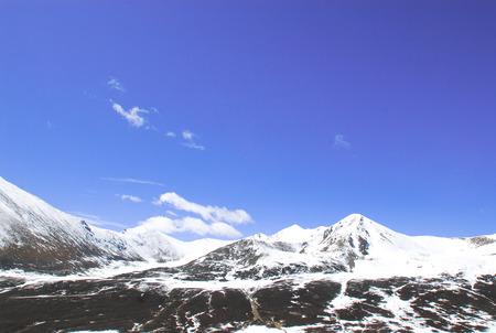 Kunlun Mountains glacier