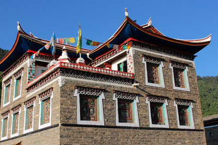 tibetan house: Tibet Tibetan house Editorial