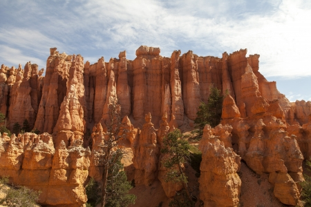 Rock formation in Bryce National Park