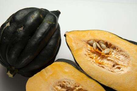 Close up of acorn squash   Banco de Imagens