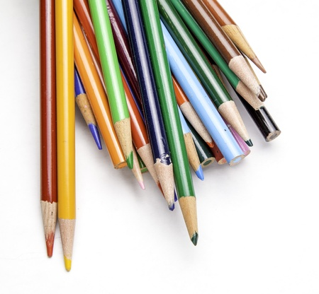 Colored Pencils Imagens