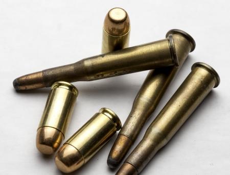 各種弾丸のグループ