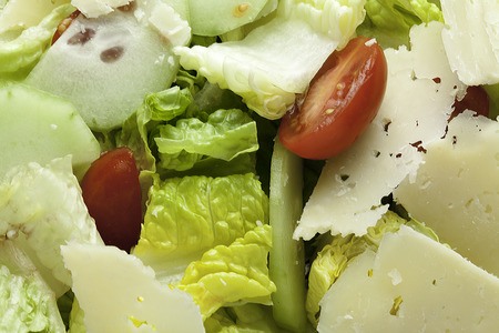 Salad close up