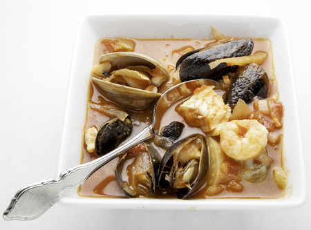 Cioppino fish stew  Stock fotó