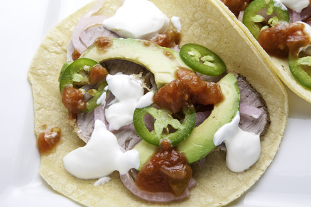 Roasted Pork Taco