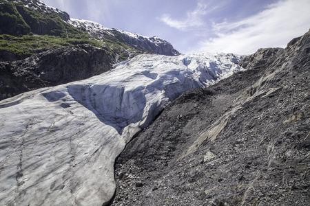 Iceberg scene in Alaska.