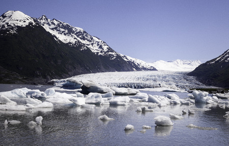 Iceberg in Alaska.