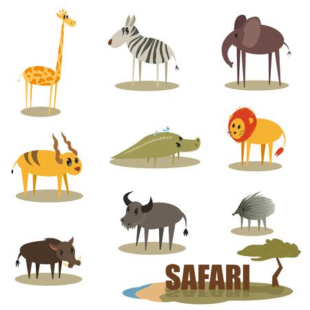 Cartoon Animal Vector