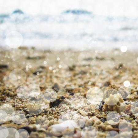 ard: Sand bokeh background