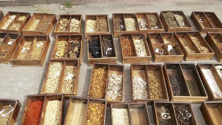 herbs boxes: Sunny sun medicine boxes.