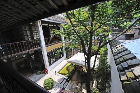 chinese courtyard: China Jiangnan yard