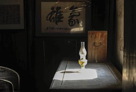 oficina antigua: Interior de Feng Xuefeng antigua residencia