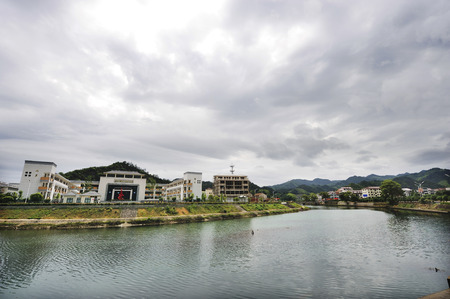 company premises: Jinhua Xianyuan Lake Elementary School
