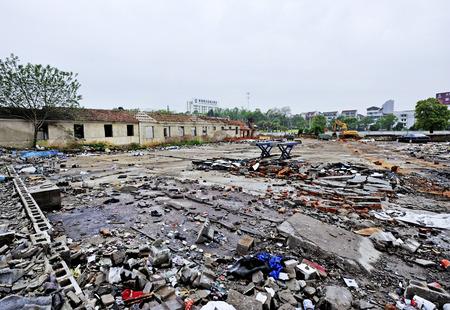 demolition: demolition site