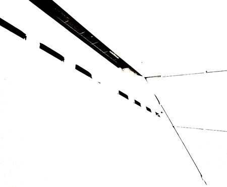 ade: Irregular lines Stock Photo