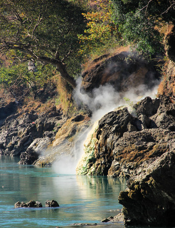 a bathing place: Natural bathing place