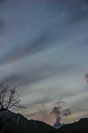 yunnan: Yunnan sky at evening
