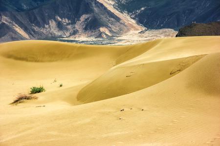 loess: Desert scenery Stock Photo