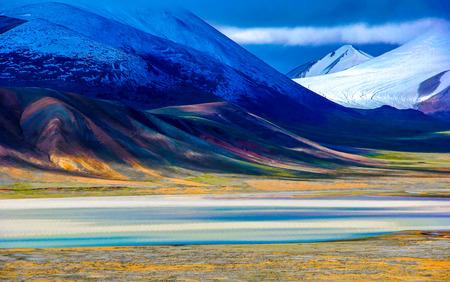 Tibet PAESAGGIO Archivio Fotografico - 43700260