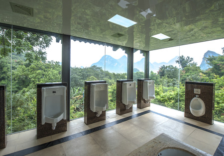 permeability: Men Toilets