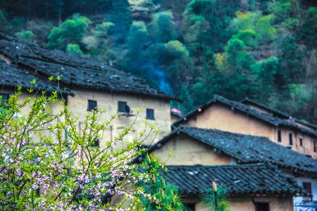 고대 마을 스톡 콘텐츠