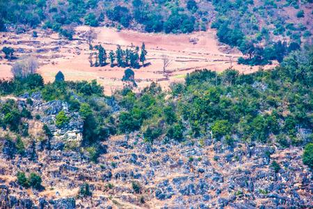 altitude: high altitude plateau Stock Photo