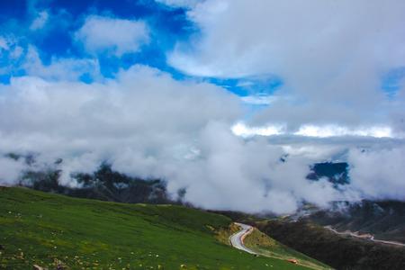 circling: Circling mountain road