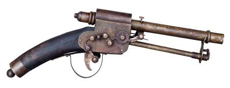 gunpowder: Antique gun