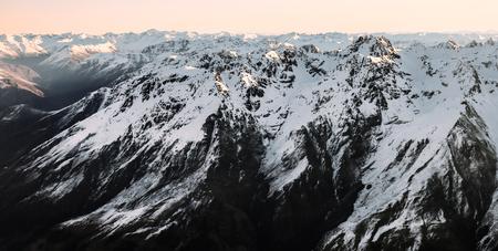 convection: Snow Mountain Stock Photo