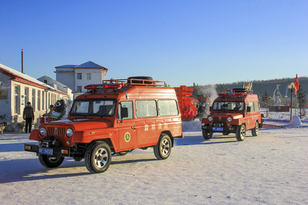 voiture de pompiers: pompiers