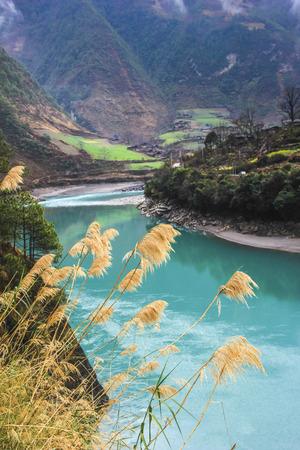 pastoral scenery: Gorge Stock Photo