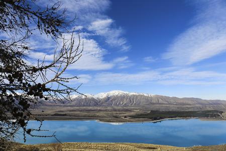 nature scenery: New Zealand nature scenery