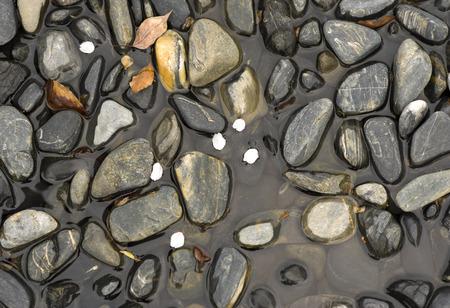 small stones: Small stones