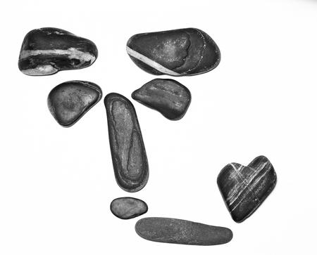 contemplate: stones Stock Photo