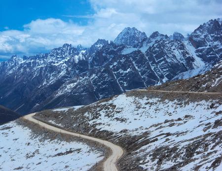plateau: western China scenery