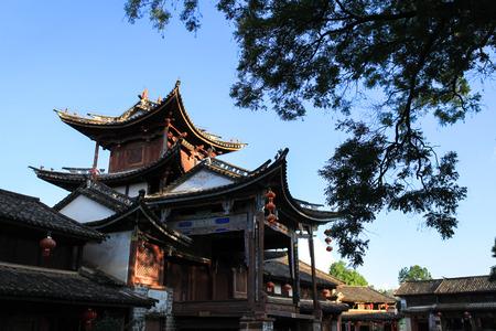 ancient building at Yunnan