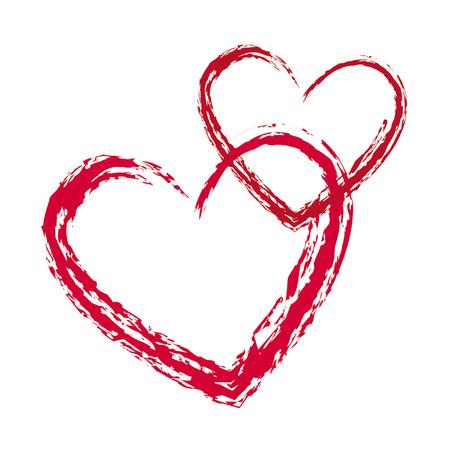 heart  love: Valentine heart Illustration