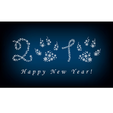 New Year's background Stock Vector - 8754324