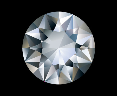 A diamond Stock Vector - 8754356