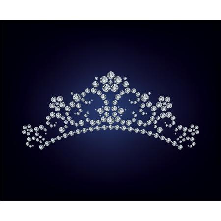 queen diamonds: Diamante tiara