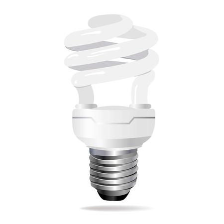 thrift: Bombilla de ahorro de energ�a.  Vectores