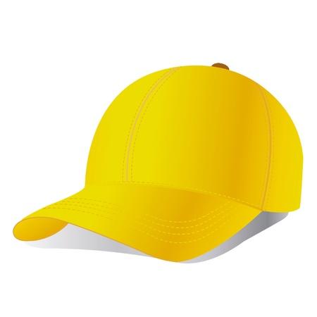 hat with visor: Vector baseball cap  Illustration