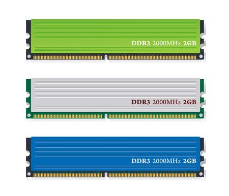 dram: Set of   memory modules