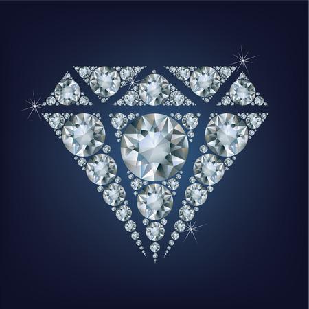 caustic: Shiny bright diamond symbol made a lot of diamonds