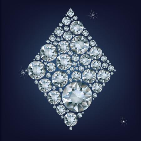 ace of diamonds: Casino poker Ace card made a lot of diamonds