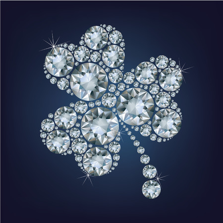 exuberance: Clover made a lot of diamonds Illustration