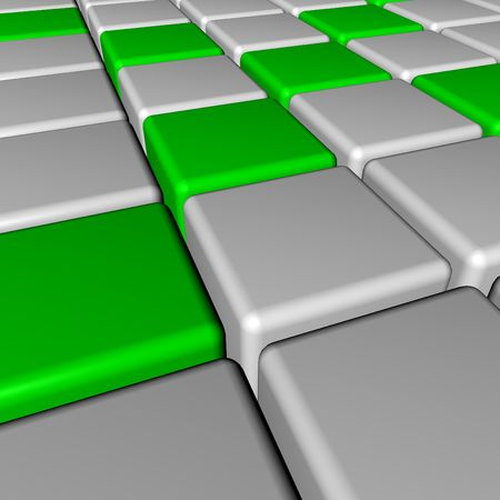 3d cube photo