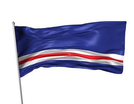 verde: Cape Verde flag
