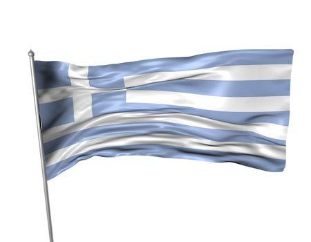 Greece flag  photo