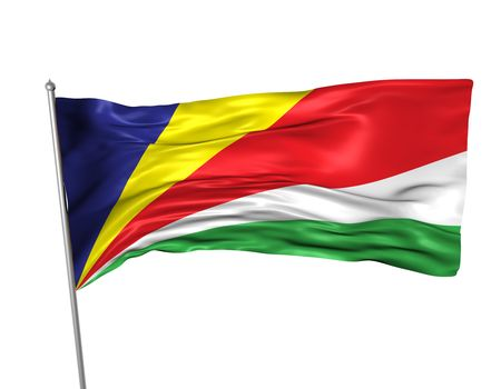 Seychelles flag  photo